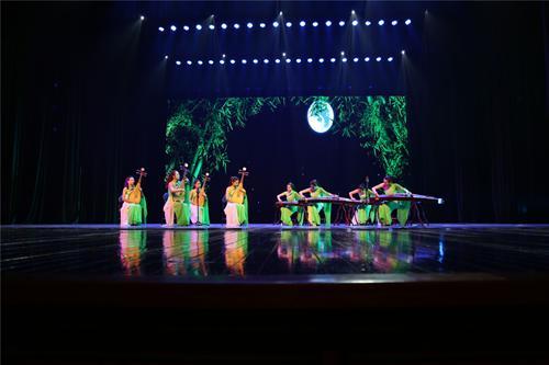 古筝琵琶合奏《月儿高》,表演:音乐系